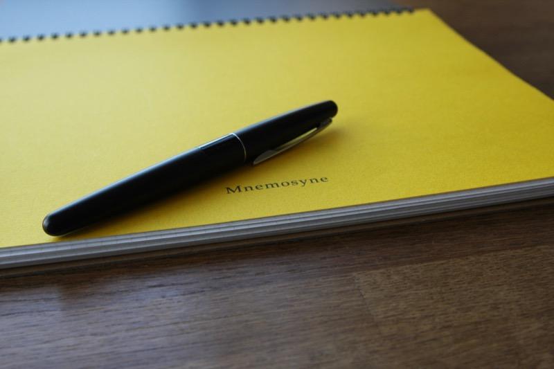 マルマンノート「ニーモシネ」黄色い中表紙