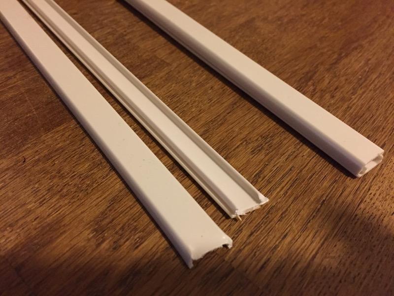 室内用の配線カバー