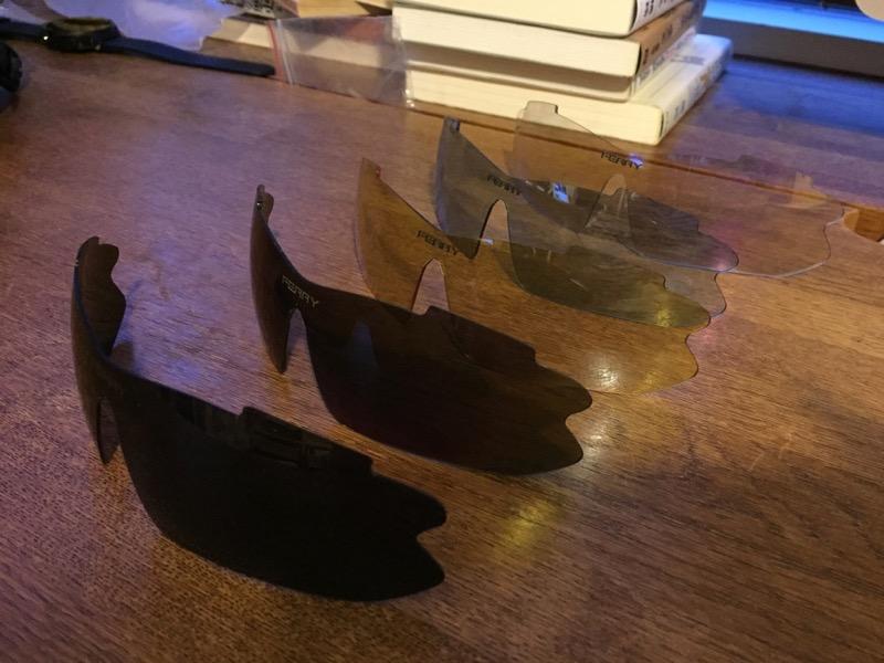 FERRY偏光サングラスのレンズ5枚