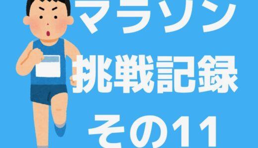 フルマラソン挑戦記録〜その11