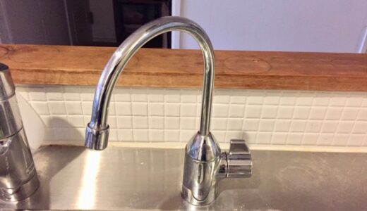 浄水器用水栓【TOTO TK301ASX】の水漏れ修理をした話